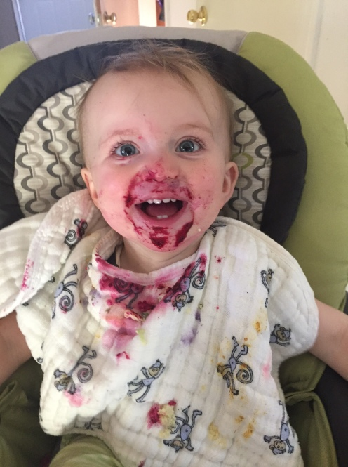 A young fan of our beets!